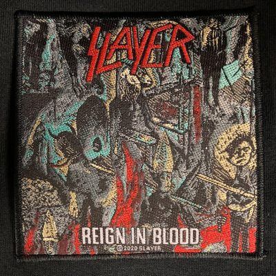 SLAYER – Reign In Blood Patch Patches