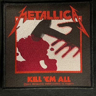 METALLICA – Kill 'Em All Patch Patches