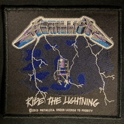 METALLICA – Ride The Lightning Patch Patches