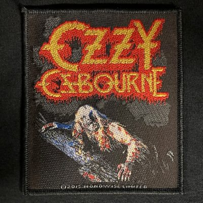 OZZY OSBOURNE – Bark at the Moon Patch Patches