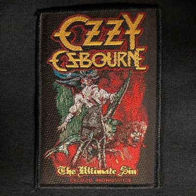 OZZY OSBOURNE – The Ultimate Sin Patch Patches