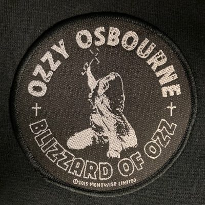 OZZY OSBOURNE – Blizzard of Ozz Patch Patches