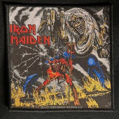 IRON MAIDEN – Number of The Beast Patch Patches