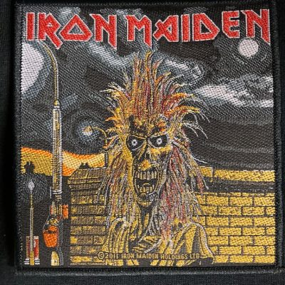 IRON MAIDEN – S/T Patch Patches