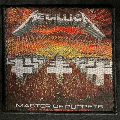 METALLICA – Master of Puppets Patch Patches