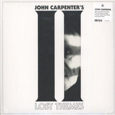 "JOHN CARPENTER – Lost Themes II LP 12"" Vinyl Records"