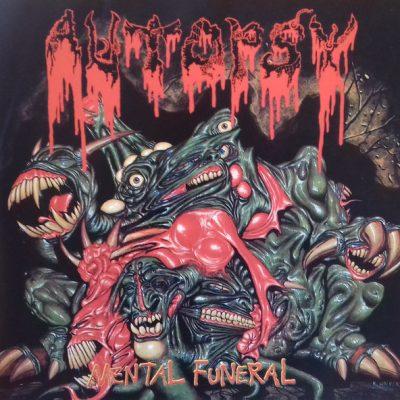 """AUTOPSY – Mental Funeral LP 12"""" Vinyl Records"""