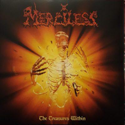 "MERCILESS – The Treasures Within LP 12"" Vinyl Records"
