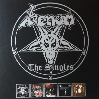 VENOM – The Singles 5CD boxset CDs