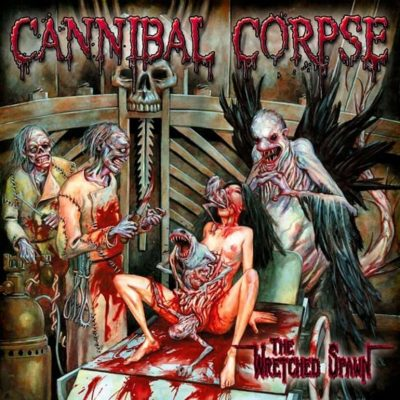"""CANNIBAL CORPSE – The Wretched Spawn LP 12"""" Vinyl Records"""