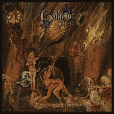 """CENOTAFIO-  Larvae Tedeum Teratos LP 12"""" Vinyl Records"""