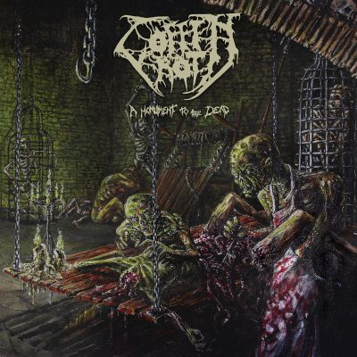 """COFFIN ROT –  Monument to the Dead LP 12"""" Vinyl Records"""