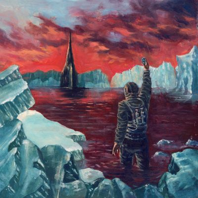 """CRYPTIC SHIFT – Visitations from Enceladus Pic LP 12"""" Vinyl Records"""