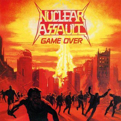 "NUCLEAR ASSAULT – Game Over LP (Black vinyl) 12"" Vinyl Records"