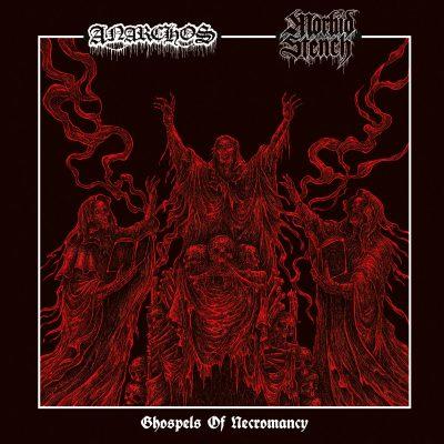 """ANARCHOS / MORBID STENCH – Ghospels of Necromancy 7″ 7"""" Vinyl Records"""
