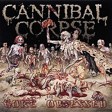 """CANNIBAL CORPSE – Gore Obsessed LP 12"""" Vinyl Records"""