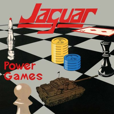 """JAGUAR – Power Games LP + 7"""" (Purple vinyl) 12"""" Vinyl Records"""