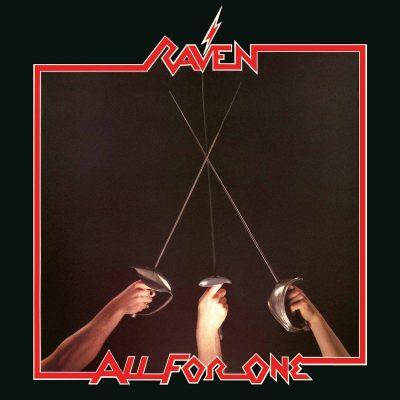 """RAVEN – All For One t LP + 10"""" (Black vinyl) 12"""" Vinyl Records"""