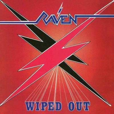 """RAVEN – Wiped Out LP + 7"""" (Black vinyl) 12"""" Vinyl Records"""