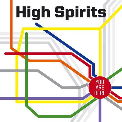 """HIGH SPIRITS – You Are Here (Clear vinyl) 12"""" Vinyl Records"""