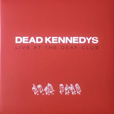 """DEAD KENNEDYS – Live at The Deaf Club LP 12"""" Vinyl Records"""