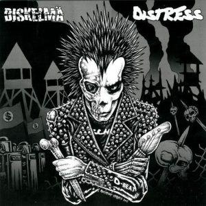 DISKELMÄ / DISTRESS – split 7″ (2nd Hand) 2nd Hand Vinyl EP
