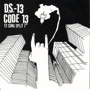 DS-13 / CODE 13 – split 7″ (2nd Hand) 2nd Hand Vinyl EP
