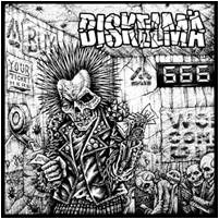 DISKELMÄ / POLTTOITSEMURHA split 7″ (2nd Hand) 2nd Hand Vinyl EP