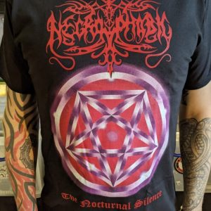 NECROPHOBIC – The Nocturnal Silence T-shirt T-shirts