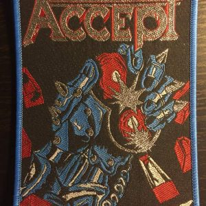 Accept – Balls To The Wall Patch Patches