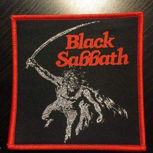 Black Sabbath – Paranoid Patch Patches