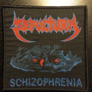 Sepultura – Schizophrenia Patch Patches