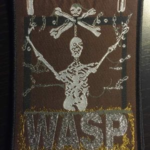 W.A.S.P. – W.A.S.P. Patch Patches