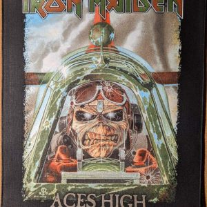 Iron Maiden – Aces High Back Patch Back Patches