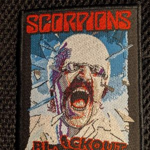 Scorpions – Blackout Patch Patches