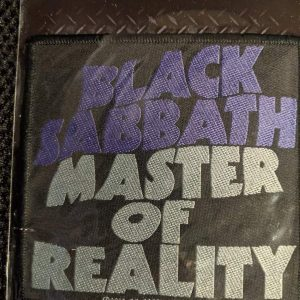Black Sabbath – Master Of Reality Patch Patches