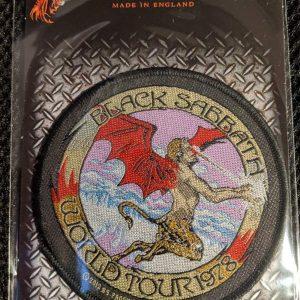 Black Sabbath – World Tour '78 Patch Patches