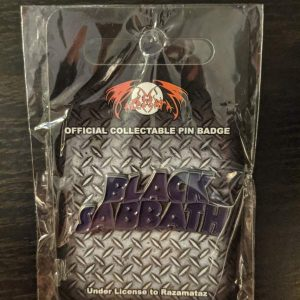 Black Sabbath – Shaped Logo Enamel Pin Pins & Enamel Pins