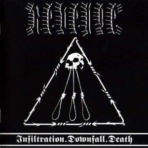 Revenge – Infiltration Downfall Death 12″ vinyl (Used) used-vinyl-lp