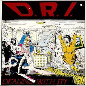 DRI – Dealing With It 12″ vinyl (Used) used-vinyl-lp
