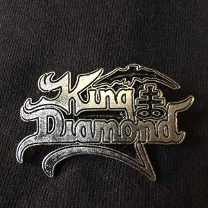 King Diamond Logo Enamel Pin Pins & Enamel Pins
