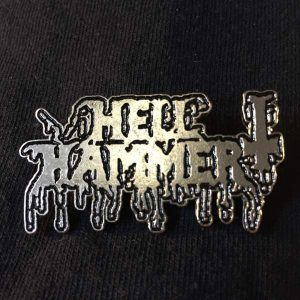 Hellhammer Logo Enamel Pin Pins & Enamel Pins