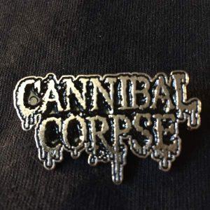 Cannibal Corpse Logo Enamel Pin Pins & Enamel Pins