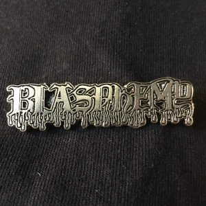 Blasphemy Logo Enamel Pin Pins & Enamel Pins