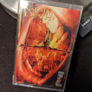 Napalm Death – Words From the Exit Wound MC (2nd Hand) 2nd Hand Tapes