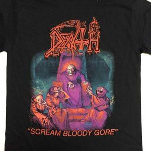 Death – Scream Bloody Gore T-shirt T-shirts