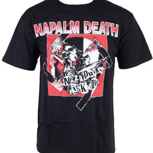 Napalm Death – Nazi Punks Fuck Off T-shirt T-shirts