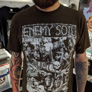 Enemy Soil – Surrender T-shirt T-shirts