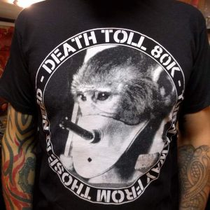 DEATH TOLL 80K – Turn Away T-shirt Sale Items