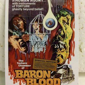Baron Blood Magnet Magnets